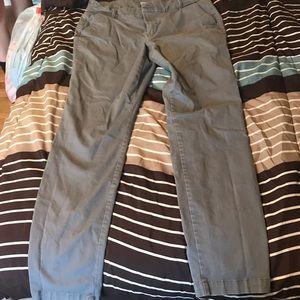 Gray Pixie Pants